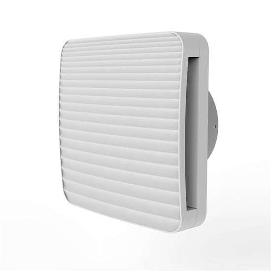 Bild von Bad/WC Ventilator ONDA 100 (O. Erre) mit Rückschlagklappe ohne Nachlauf.
