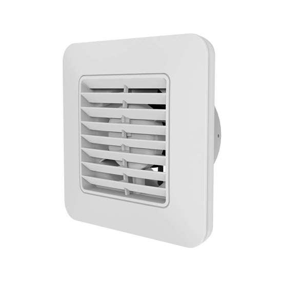 Image sur Ventilateur pour salle de bain/WC Unico 9/ 3.5 (O.Erre). Sans clapet mécanique sans temporisateur.