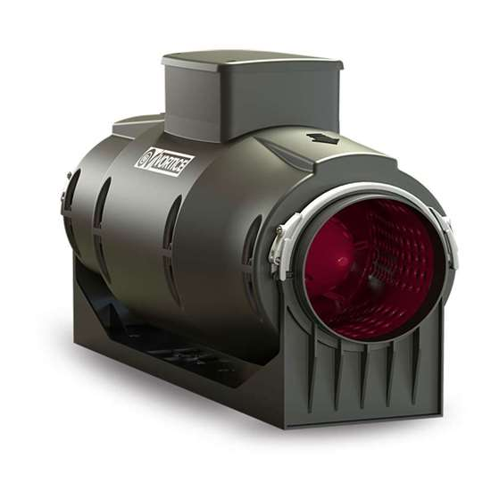 Bild von Rohrventilator Lineo 160 Quiet (Neue Version), 230V. Drei Geschwindigkeitsstufen. (Vortice)