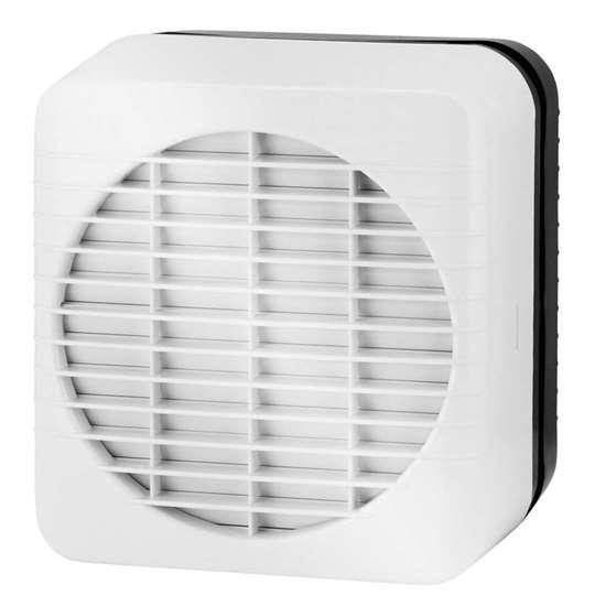 Bild von XPELAIR Fenster- und Wandventilator GX-6 EC mit automatischem Verschluss. (90800AW) Der Ventilator kann nicht geregelt werden.